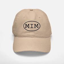 MIM Oval Baseball Baseball Cap