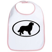 Bernese Mountain Dog Oval Bib