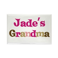 Jade's Grandma Rectangle Magnet