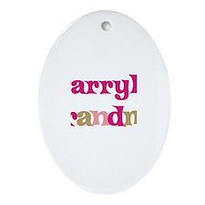 Darryl's Grandma Oval Ornament
