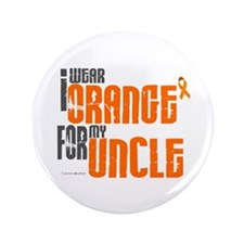 """I Wear Orange For My Uncle 6 3.5"""" Button (100 pack"""