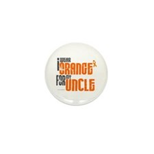 I Wear Orange For My Uncle 6 Mini Button (10 pack)