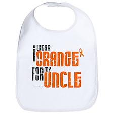 I Wear Orange For My Uncle 6 Bib