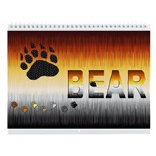 BEAR PRIDE_13 DESIGNS Wall Calendar