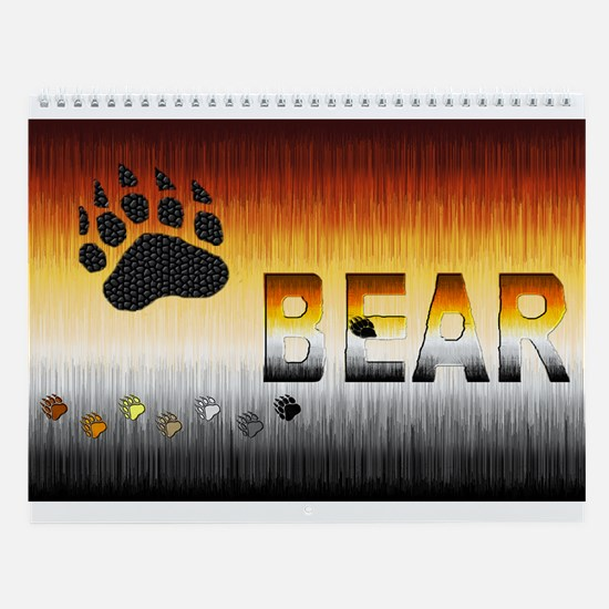 BEAR PRIDE_13 DESIGNS Wall Calendar