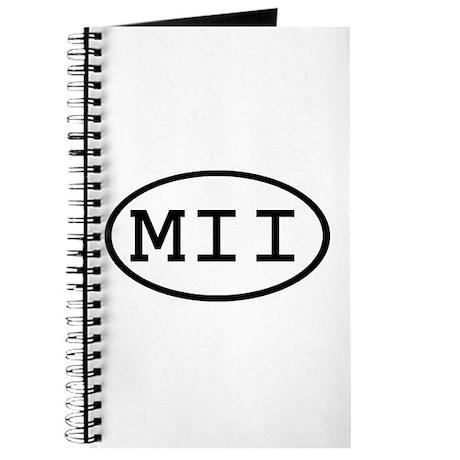 MII Oval Journal