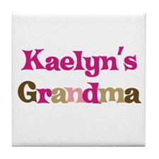 Kaelyn's Grandma Tile Coaster
