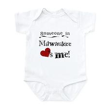 Milwaukee Loves Me Infant Bodysuit