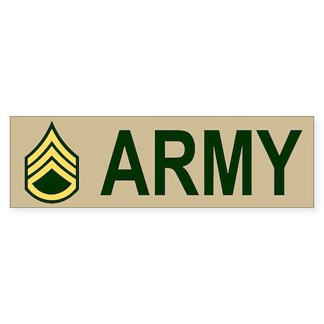 Staff Sergeant Bumper Sticker 1