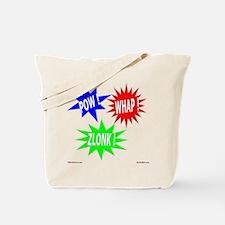 Pow Whap Zlonk Tote Bag