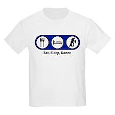 Eat, Sleep, Dance (ballroom) Kids T-Shirt