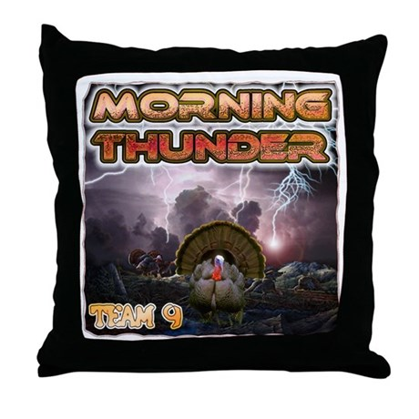 HNI 2007 bowhunting contest Throw Pillow
