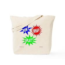 Pow Whap Splatt Tote Bag
