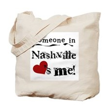 Nashville Loves Me Tote Bag