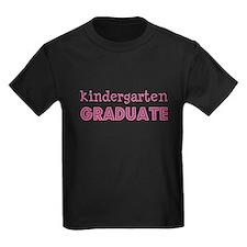 Kindergarten Graduate Pink T