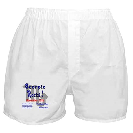 Scorpio November 15th Boxer Shorts