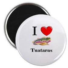 I Love Tuataras Magnet