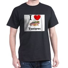 I Love Tuataras T-Shirt