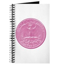 Pink Eagle Back Quarter Journal