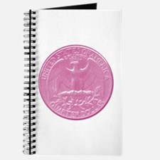 Pink Eagle Back Quarter Journal