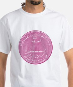 Pink Eagle Back Quarter Shirt