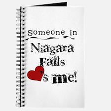 Niagara Falls Loves Me Journal