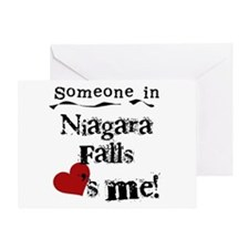 Niagara Falls Loves Me Greeting Card