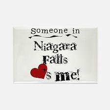 Niagara Falls Loves Me Rectangle Magnet