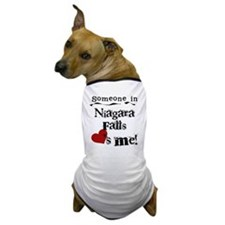 Niagara Falls Loves Me Dog T-Shirt