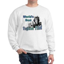 World's Best Tugboat Pilot t Sweatshirt