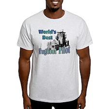 World's Best Tugboat Pilot t T-Shirt