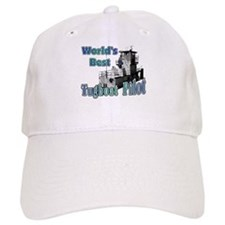 World's Best Tugboat Pilot t Baseball Cap