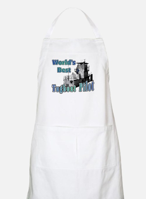 World's Best Tugboat Pilot t BBQ Apron