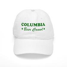 COLUMBIA beer crawl Baseball Cap