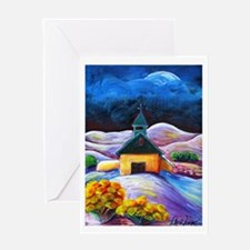 Near San Luis - Greeting Card