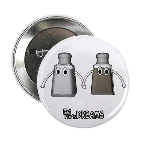 """Salt & Pepper - 2.25"""" Button"""
