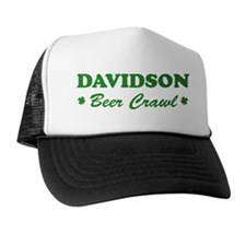 DAVIDSON beer crawl Trucker Hat