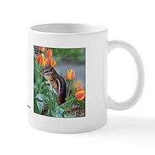 Chipmunk & Tulips Mug