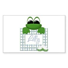 Lilly's Pad - Any Name Rectangle Decal