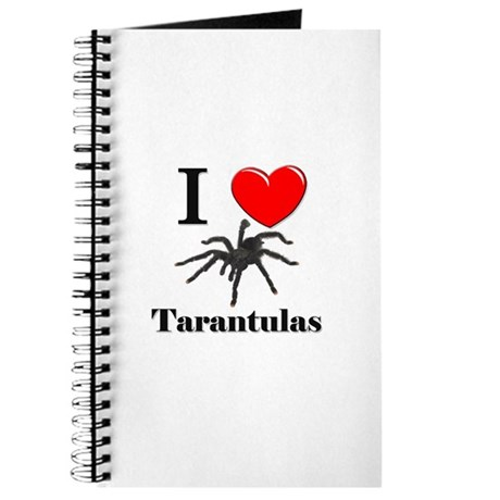 I Love Tarantulas Journal