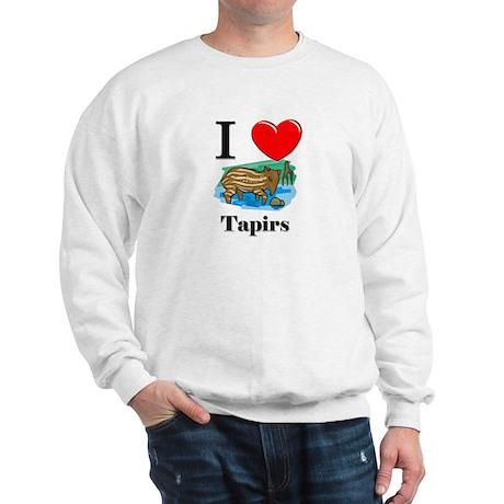 I Love Tapirs Sweatshirt