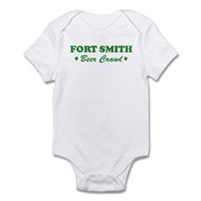 FORT SMITH beer crawl Infant Bodysuit