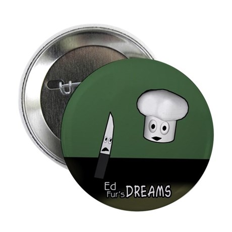 """Chef & Knife - 2.25"""" Button"""