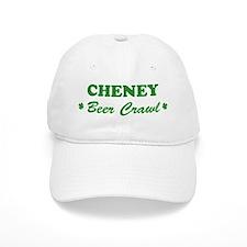 CHENEY beer crawl Baseball Cap