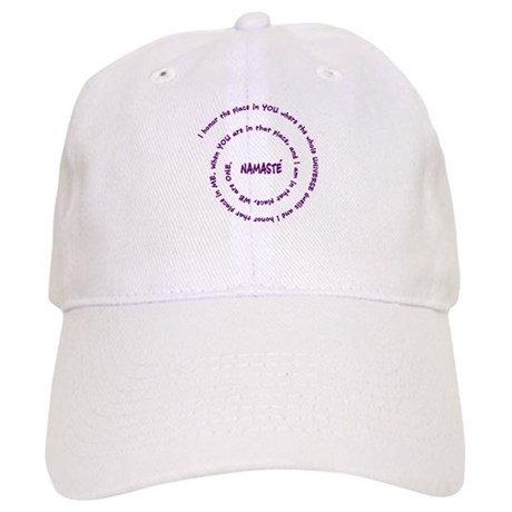 Namaste and its Meaning in Sacred Purple Cap