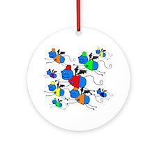 Flying Monkeys Ornament (Round)