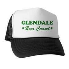 GLENDALE beer crawl Trucker Hat