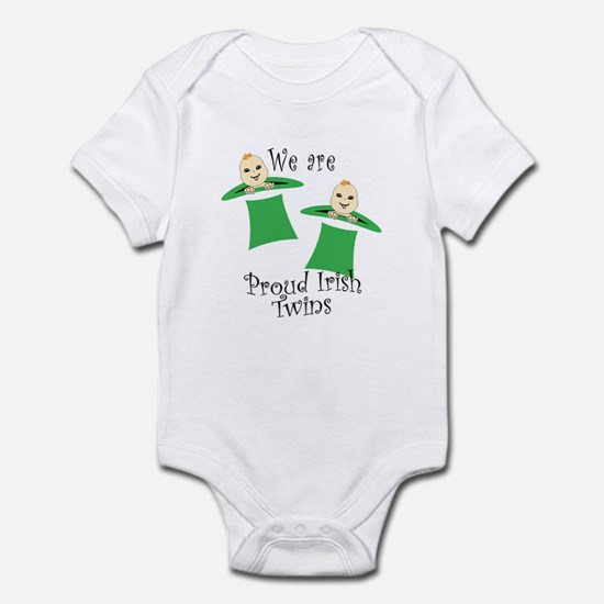 Proud Irish Twins Infant Bodysuit