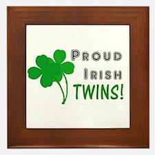 Irish Twins Framed Tile