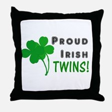 Irish Twins Throw Pillow